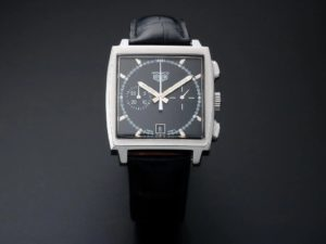 Lot #7740 – Limited Heuer Monaco Chronograph Watch #CS2110 Watches [tag]