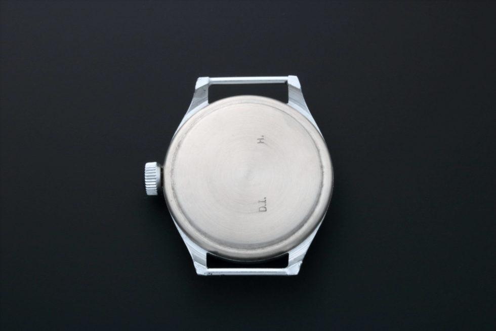 Lot #4930G – Military Watch Case Fixed Wire Lug WW II Watch Parts & Boxes Vintage Military Watch Case