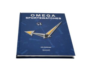 Lot #4933A – Omega Sportswatches Book by John Goldberger Collector's Bookshelf [tag]