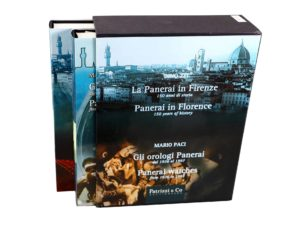 Lot #4936A – Panerai in Florence 2 Book Set by Mario Paci Collector's Bookshelf [tag]