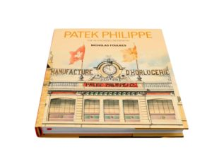 Lot #4974A – Patek Philippe The Authorized Biography Book by Nicholas Foulkes Collector's Bookshelf Patek Philippe Book