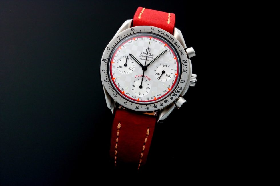 Lot #5632 – Limited Edition Omega Speedmaster Schumacher Chronograph 3517.30 Omega Omega 3517.30.00