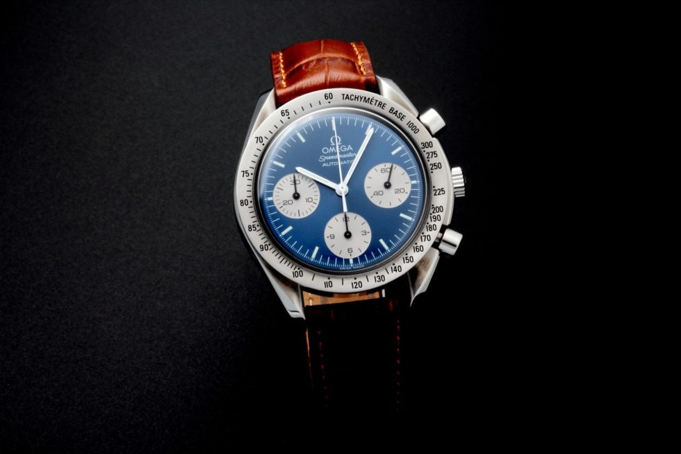 Lot #5639 – Special Edition Omega Speedmaster Japanese Market Watch 3510.82.00 Omega Chronograph