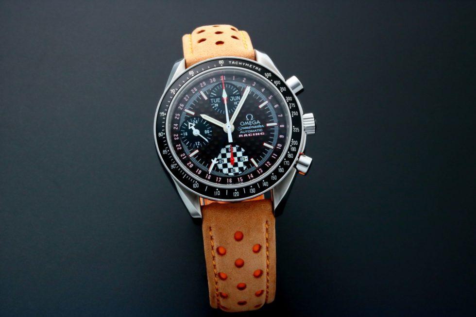 Lot #5640 – Omega Speedmaster Triple Calendar Michael Schumacher Watch 3529.50 Omega Omega 3529.50.00