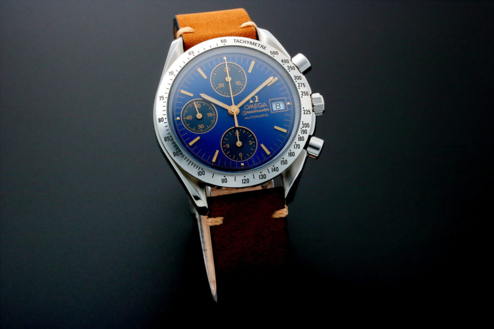 Lot #5641 – Rare and Unusual Omega Speedmaster Date Watch 3511.81 Omega Chronograph