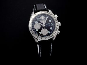 Lot #5644 – Special Edition Omega Speedmaster Triple Calendar Japanese Market Watch 3523.51 Omega Omega 3523.51.00