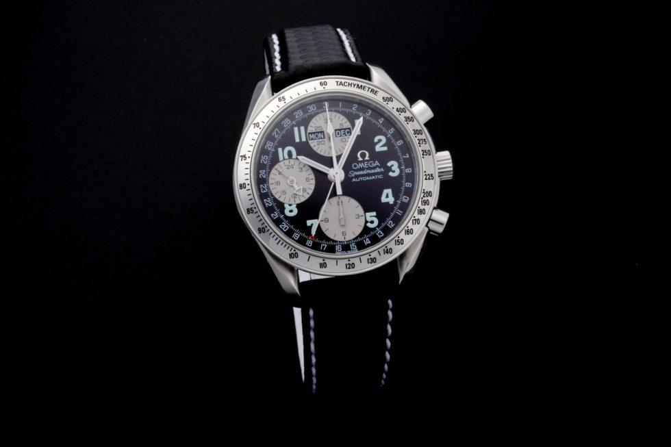 Lot #5644 – Special Edition Omega Speedmaster Triple Calendar Japanese Market Watch 3523.51 Omega Omega 3523.51.00
