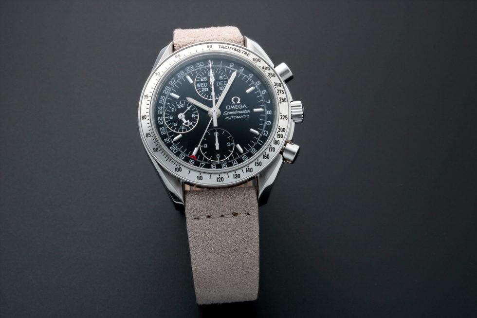 Lot #5651 – Special Edition Omega Speedmaster Triple Calendar Watch 3523.50.00 Omega Omega