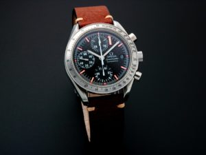 Lot #5653 – Limited Edition Omega Speedmaster Schumacher Chronograph Watch 3519.50 Omega Omega 3519.50.00