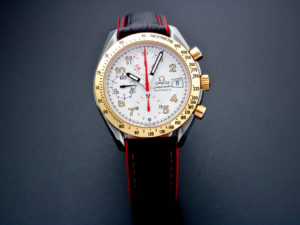 Lot #5656 – Omega Speedmaster Tutone Mark 40 Special Edition Watch 3313.33 Omega Omega 3513.33.00