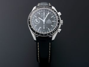 Lot #5657 – Omega Speedmaster Triple Calendar Mark 40 Watch 3520.50 Omega Omega Mark 40