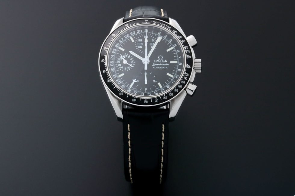 Lot #5657 – Omega Speedmaster Triple Calendar Mark 40 Watch 3520.50 Omega Omega Mark 40