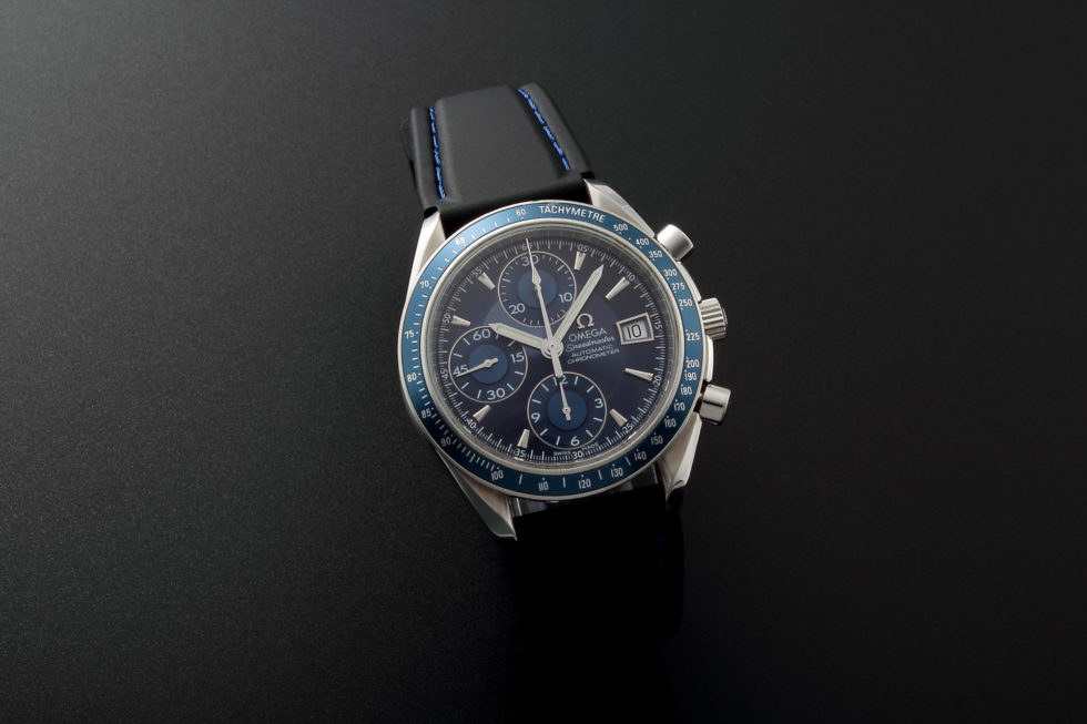 Lot #5661 – Omega Speedmaster Date Chronograph Watch 3212.80 Omega Omega 3210.50.00