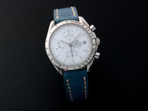 Lot #5662 – Omega Speedmaster Date Watch 3511.20 Omega Omega 3513.56.00