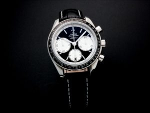Lot #7736 – Omega Speedmaster Racing Co‑Axial Watch 326.30.40.50.01.002 Omega Omega 326.30.40.50.01.001