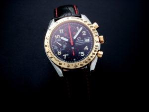 Lot #5673 – Omega Speedmaster Tutone Mark 40 Special Edition Watch 3313.53 Omega Omega 3513.33.00