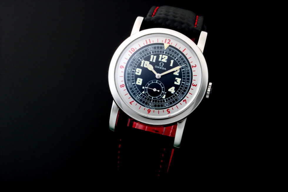 Lot #7751 – Omega Museum Pilot Limited Edition Watch 167.2000 Museum Collection Omega