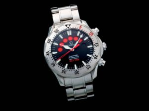 Lot #5625 – Omega Seamaster Professional Jacques Mayol Apnea Watch 2595.50 Omega Omega 2595.30.00