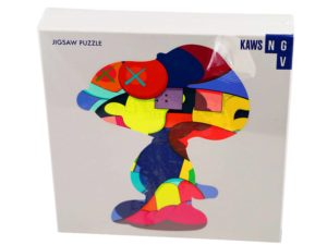 Lot #5180A – KAWS No One's Home 1000 Piece Art Puzzle Art Toys KAWS