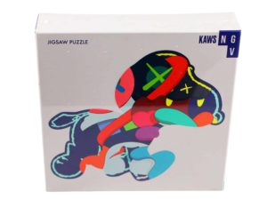Lot #5194A– KAWS Stay Steady 1000 Piece Art Puzzle Art Toys KAWS