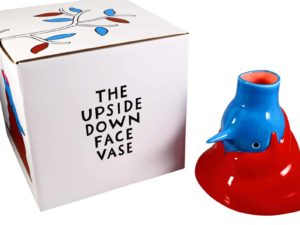 Lot #5199A – Piet Parra The Upside Down Face Vase Hair Rarities Piet Parra