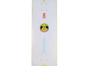 Lot #7633 – Hebru Brantley Fly Boy Skateboard Skate Deck Hebru Brantley Hebru Brantley