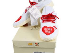Lot #5189A – Human Made x Pharrell Williams x Adidas Tennis Shoes Size 10.5 Various Human Made Shoes