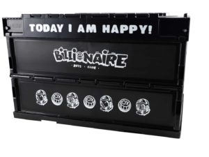 Lot #7135 – Andre Saraiva x Billionaire Boys Club Crate Container Art Toys Andre Saraiva
