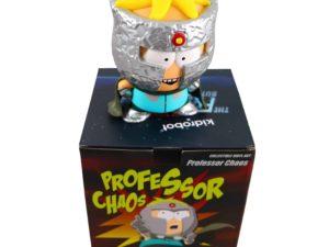 Lot #7409 – South Park Butters Stotch Professor Chaos Kidrobot Vinyl Figure Art Toys Kidrobot Professor Chaos