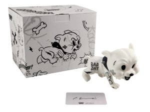 Lot #7375 – Cote Escriva Creepy Baby Dog Vinyl Figure Art Toys Cote Escriva