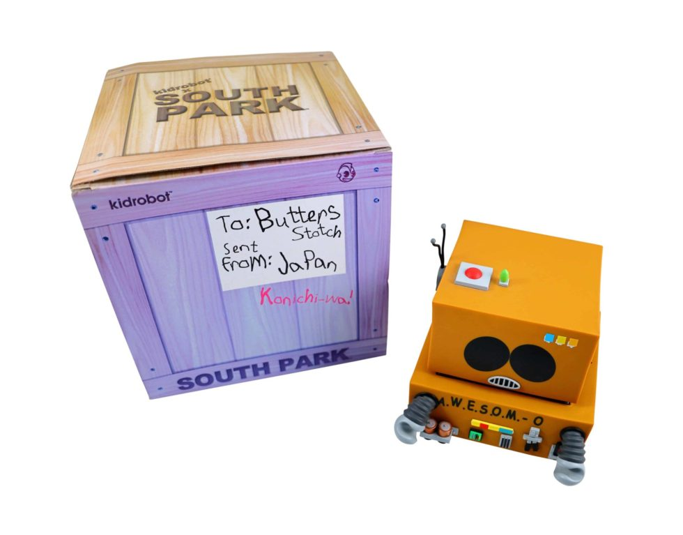 Lot #8775 – South Park Eric Cartman AWESOMO Kidrobot Vinyl Figure Art Toys Kidrobot AWESOMO
