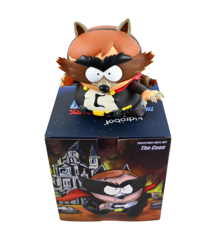 Lot #8776 – South Park Eric Cartman The Coon Kidrobot Vinyl Figure Art Toys [tag]