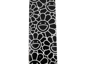 Lot #7322A – Takashi Murakami Flowers as Ohana-Chang Black Skateboard Deck Skateboard Decks Takashi Murakami