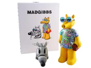 Lot #7642 – Steven Harrington x Madgibbs Quasimoto Sculpture Art Toys Steven Harrington