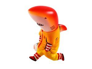 Lot #7454 – Lim Pill Young Duckhead Shark Figure Art Toys Duckhead