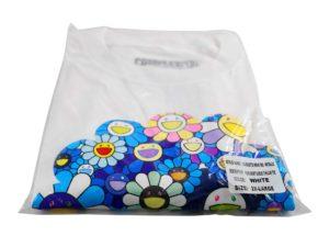 Lot #9882 – Takashi Murakami x ComplexCon Silhouette Metallic Tee Shirt 2XL T Shirt [tag]