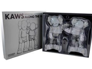 Lot #8712 – KAWS Along The Way Grey Vinyl Figures Along The Way KAWS Along The Way