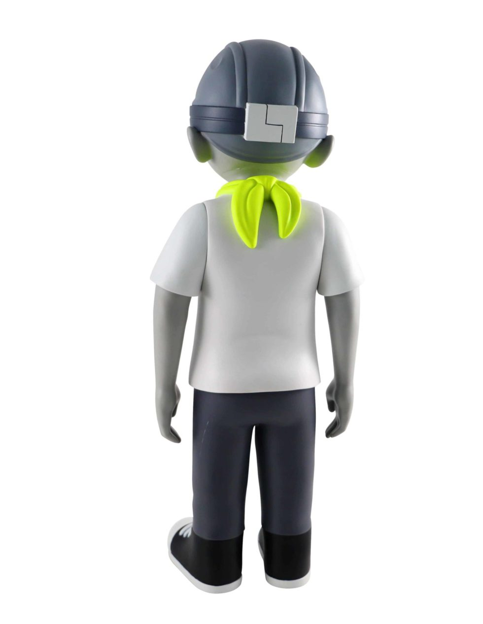 Lot #7082 – Hebru Brantley Volt Flyboy 18 Inch Vinyl Sculpture Art Toys [tag]