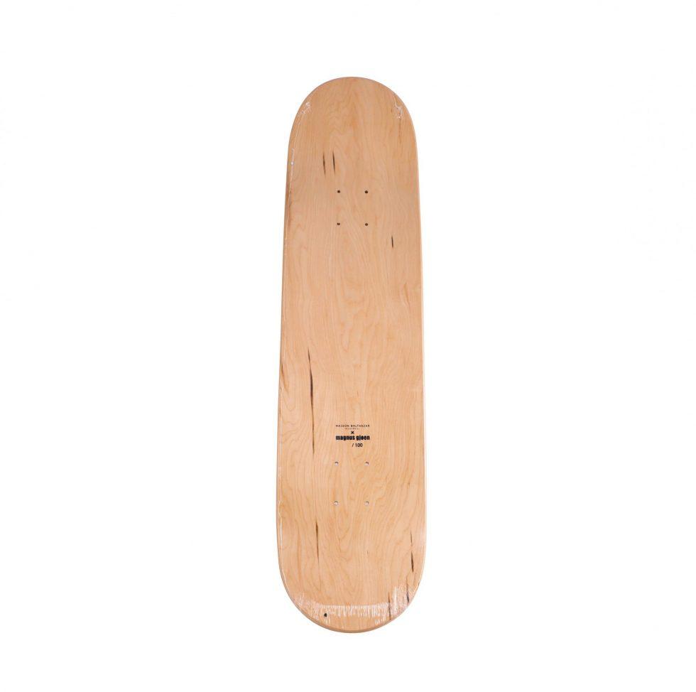 Lot #9749 – Magnus Gjoen Flowerbomb Skateboard Deck Skateboard Decks Magnus Gjoen