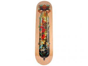 Lot #8750 – Magnus Gjoen Flowerbomb Skateboard Deck Skateboard Decks Magnus Gjoen