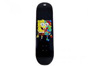 Lot #10604–Louis De Guzman Spongebob J Balvin Skateboard Deck Louis De Guzman J Balvin