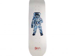 Lot #8754 – Michael Kagan x Billionaire Boys Club Astronaut Skateboard Deck Skateboard Decks Michael Kagan