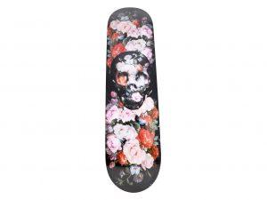 Lot #8752 – Magnus Gjoen Roses Are Dead Skateboard Deck Skateboard Decks Magnus Gjoen