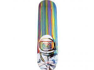 Lot #9018 – Shang Chengxiang Astronaut Skateboard Deck Limited Edition Shang Chengxiang Shang Chengxiang