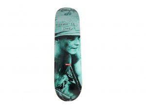 Lot #7256 – Supreme Is Love Teal Skateboard Deck Skateboard Decks [tag]