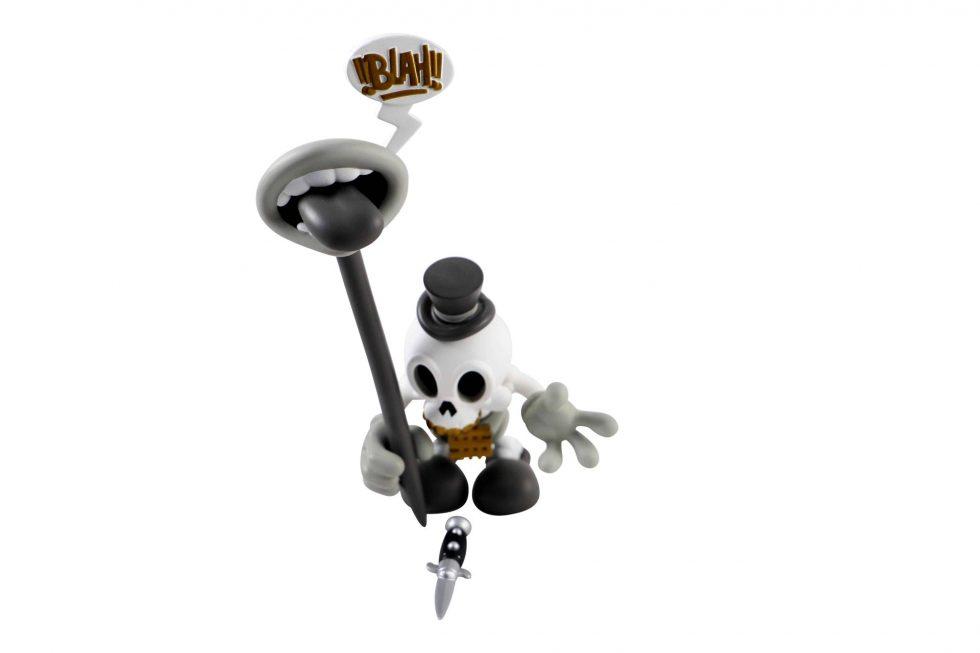 Lot #7406 – Mad Toy Modern Hero Grey Vinyl Sculpture Art Toys [tag]
