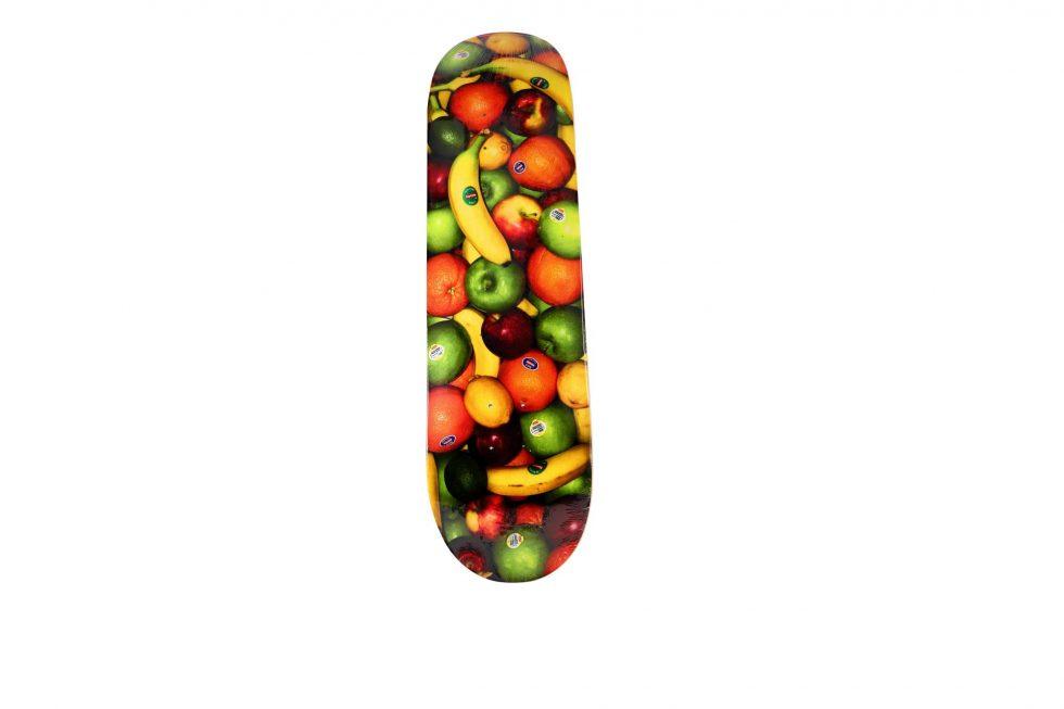 Lot #7260 – Supreme Fruit Skateboard Skate Deck Skateboard Decks [tag]