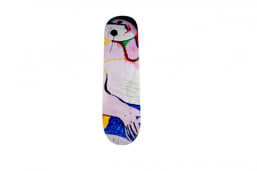 Lot #9747 – Madsaki Le Reve 2 Signed Skateboard Skate Deck Skateboard Decks [tag]