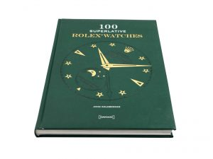 Lot #6348B – 100 Superlative Rolex Watches Book by John Goldberger Collector's Bookshelf John Goldberger