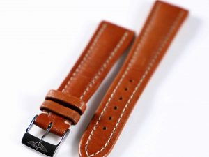Lot #6287 – Breitling 20MM Leather Strap with Breitling Tang Buckle Breitling [tag]